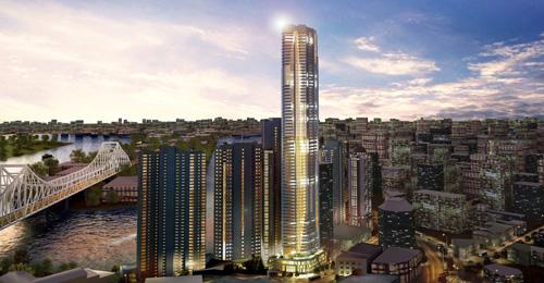 Soleil Residential Tower - Adelaide St - Brisbane